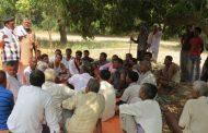 Field Meeting in Sarlahi District